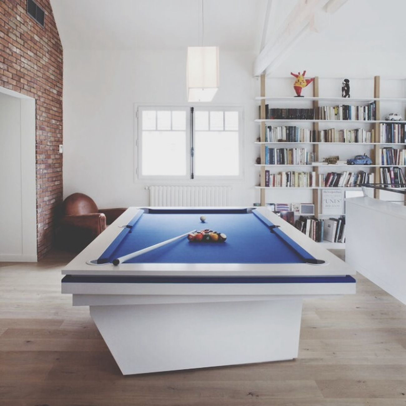 Billard Interior Desin Modern Architecture Play Time