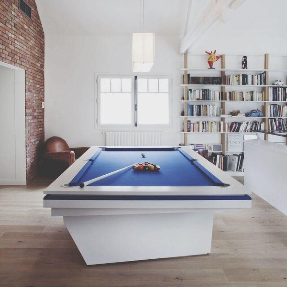 Billard Interior Desin Modern Architecture Play Time