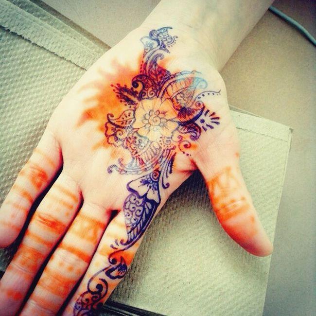 Henna design drawn by me Tattoo Design Henna Tatto Tattoo Art Ink Drawing Henna