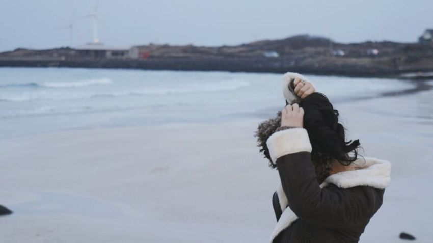 JEJU ISLAND  Winterbeach