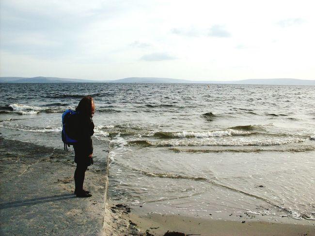 Freedom. Freedom Freiheit Ocean Ozean Sea Meer Traveler Wanderer Reisende Backpacking Waves Wellen View Ausblick