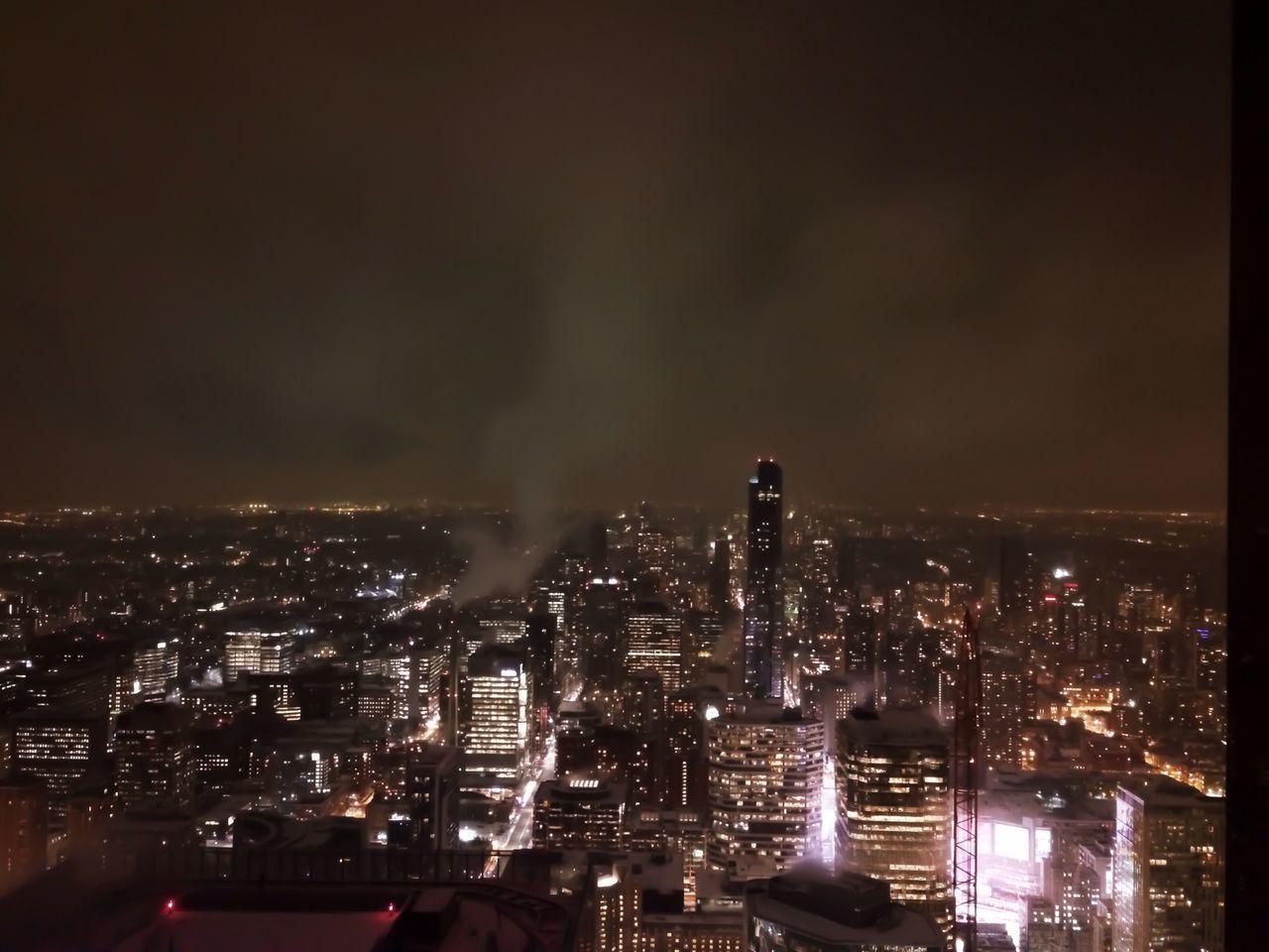 Toronto's Brightest City Lights Night Sky EyeEm Best Shots Explore Canada