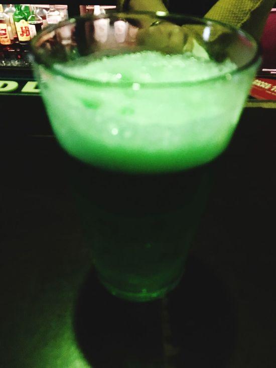 Speedygonzales Happy St Patty's Day :) Green Drink Green Beer Green Green Green!  Green Beer For St Patrick's Day