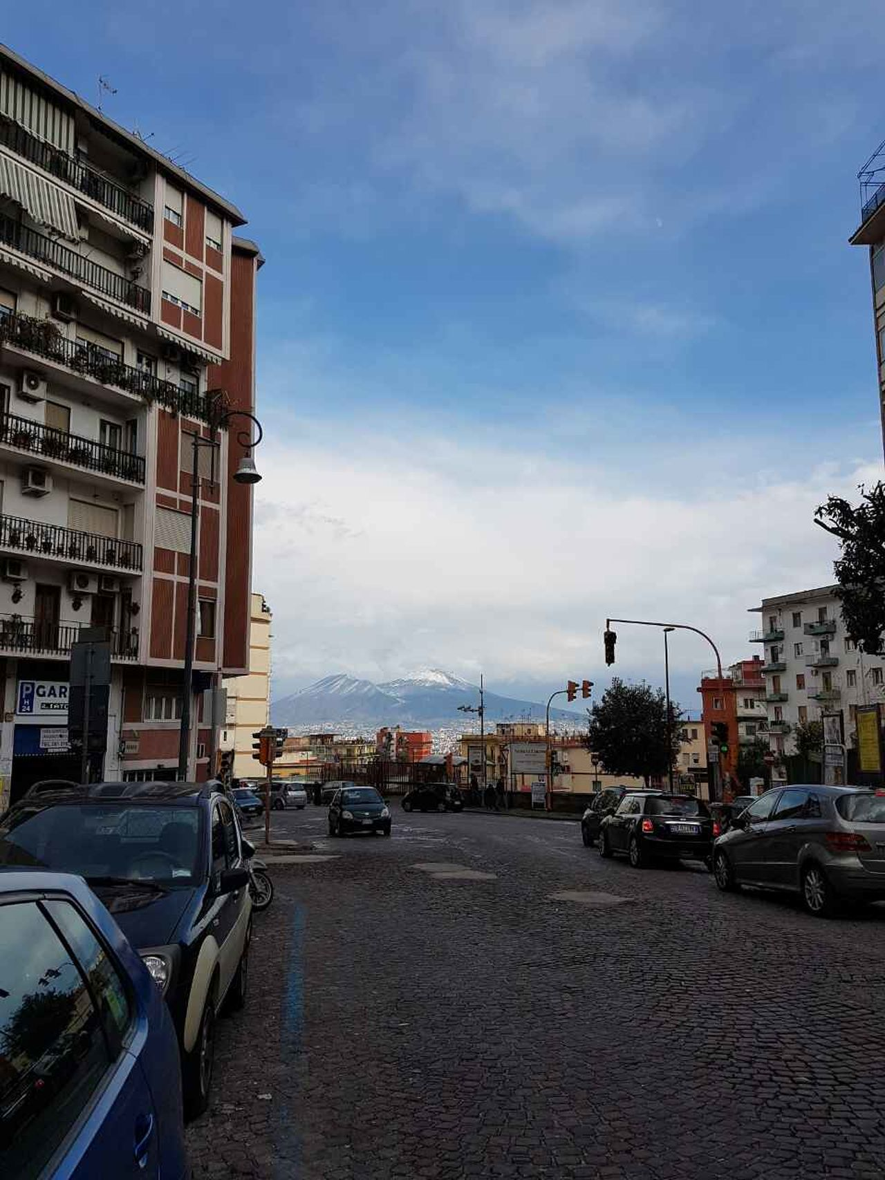 Napoli ❤ City Car Travel Destinations Transportation Outdoors Sky Day Building Exterior Architecture Built Structure No People