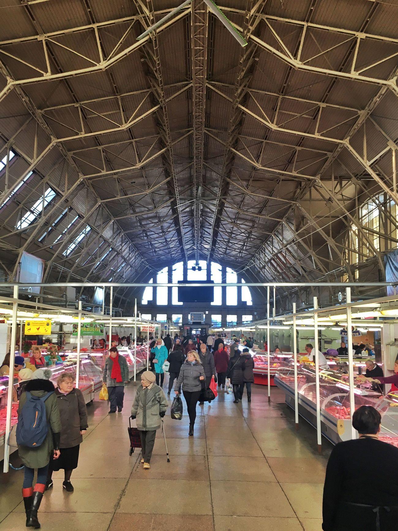 Market Riga Market Hall Baltics2k16