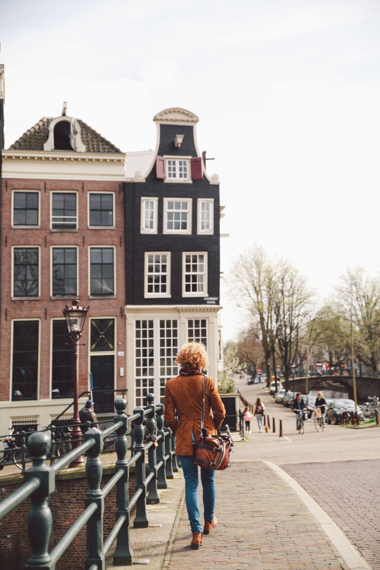 Beautiful stock photos of frühling, 30-34 Years, Amsterdam, Architecture, Bridge - Man Made Structure