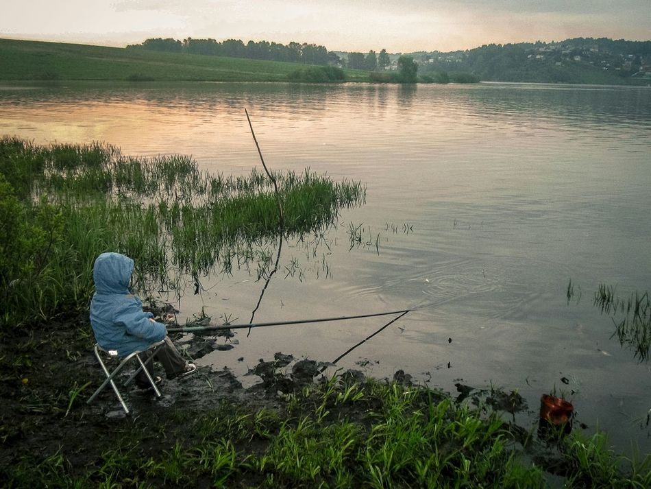 Beautiful stock photos of fishing, Beauty In Nature, Child, Childhood, Day