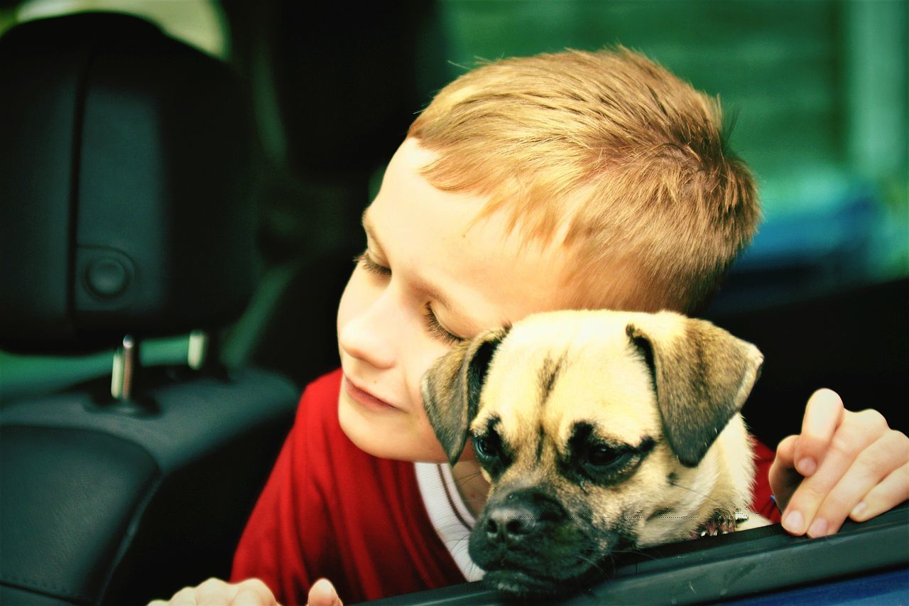 How Cute Is This Picture Little Boy And His Dog This Is AEyEem Great. Pets And Kids You Love One You Love The Other Hope You Enjoy This Picture EyeEm Best Shots EyeEm Gallery
