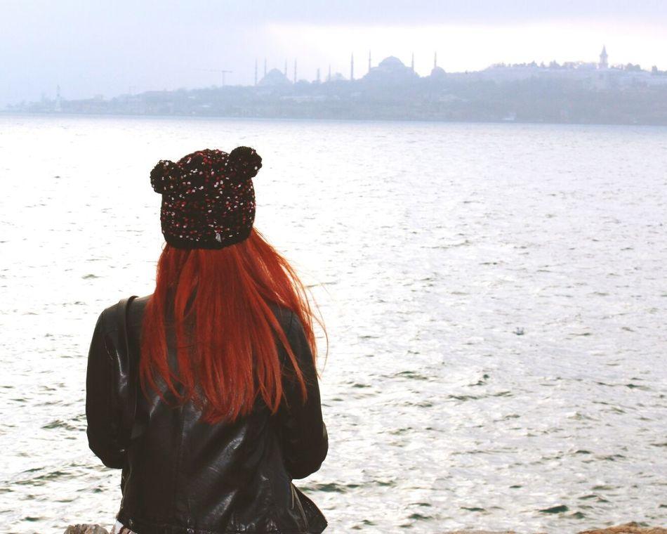 Me Goodnight Red Hairs Girls Selfie Ben Uskudar Enjoying Life Photoofthedays