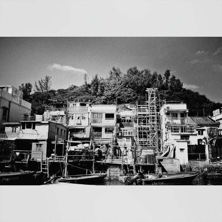 TAIo Fish Village HongKong Streetphotography Eye4photography  Black And White Photography Black & White Eye4black&white