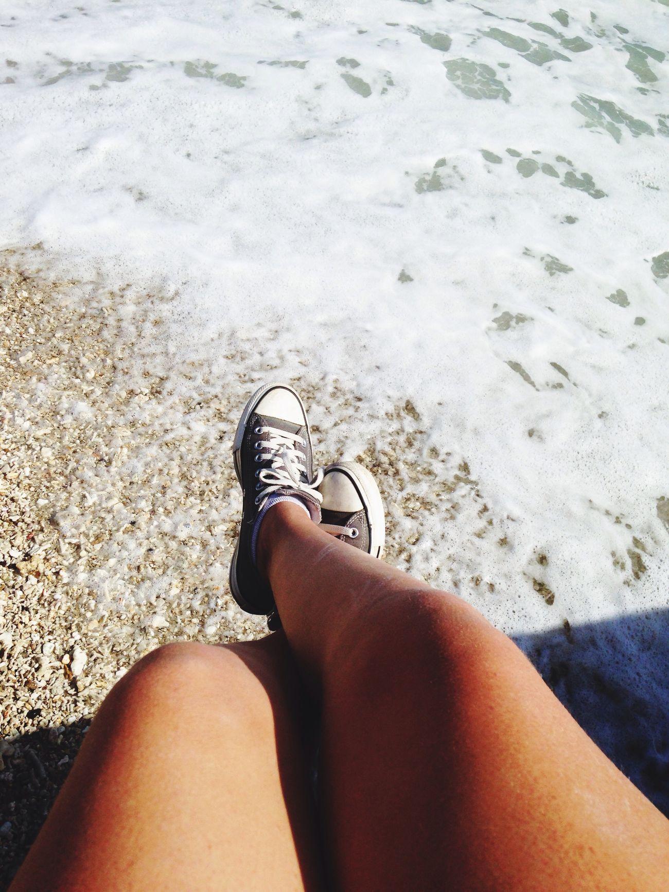Beach Converses