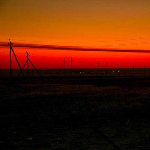 Good morning guys, it is the second orange sunrise / Доброе утро ребят, второй красный рассвет. Sunrise Color Oilfieldbase Oilfield oil orange red road nikon nikonphotography nikonphoto рассвет красный оранжевый дорога месторождение никон неееееефть