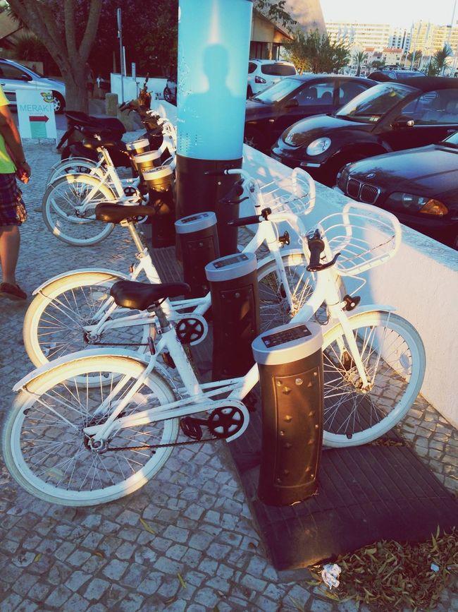 Les vélos à louer au Portugal. ? Velib´ Algarve, Portugal