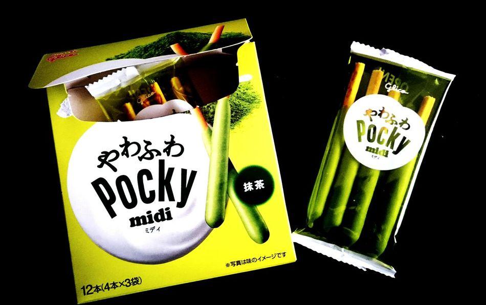 No People Food Pockey ポッキー 抹茶 美味しい 美味い Green Black