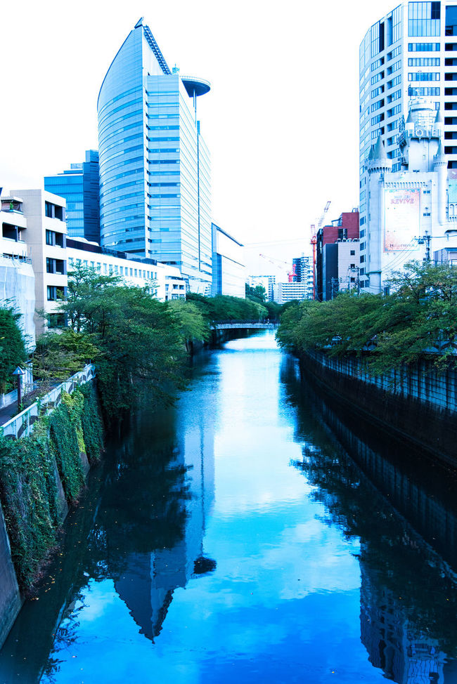 Original form Architecture Bridge Building Building Exterior Canal City City Life Day Diminishing Perspective Growth Modern Nature No People Office Building Outdoors Reflection Rei Residential Building Residential District Residential Structure River Sky Standing Water Water Waterfront
