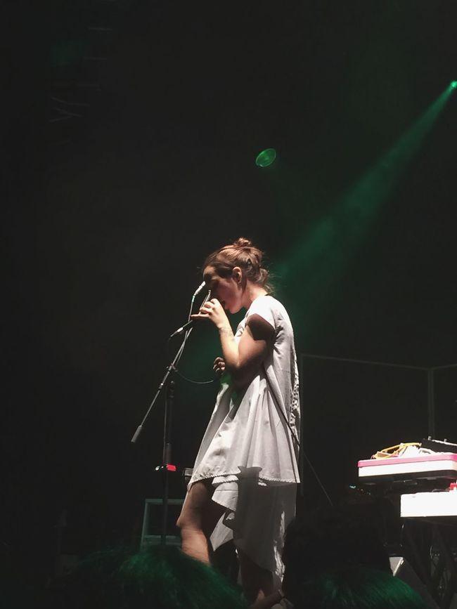 Ela Minus👏🏼👌🏼🎤 Indie Plazacondesa Mexico City Concierto Goodgirl Live