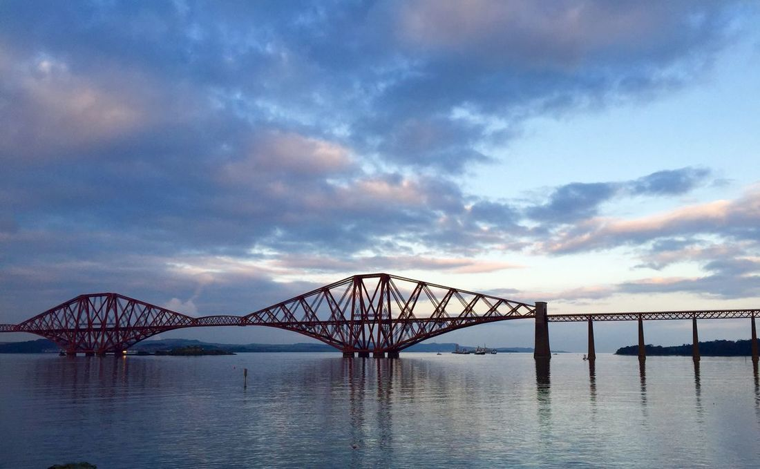 ForTheLoveOfPhotographyrth Bridge] Edinburgh Eye Em Scotland Sunset_collection