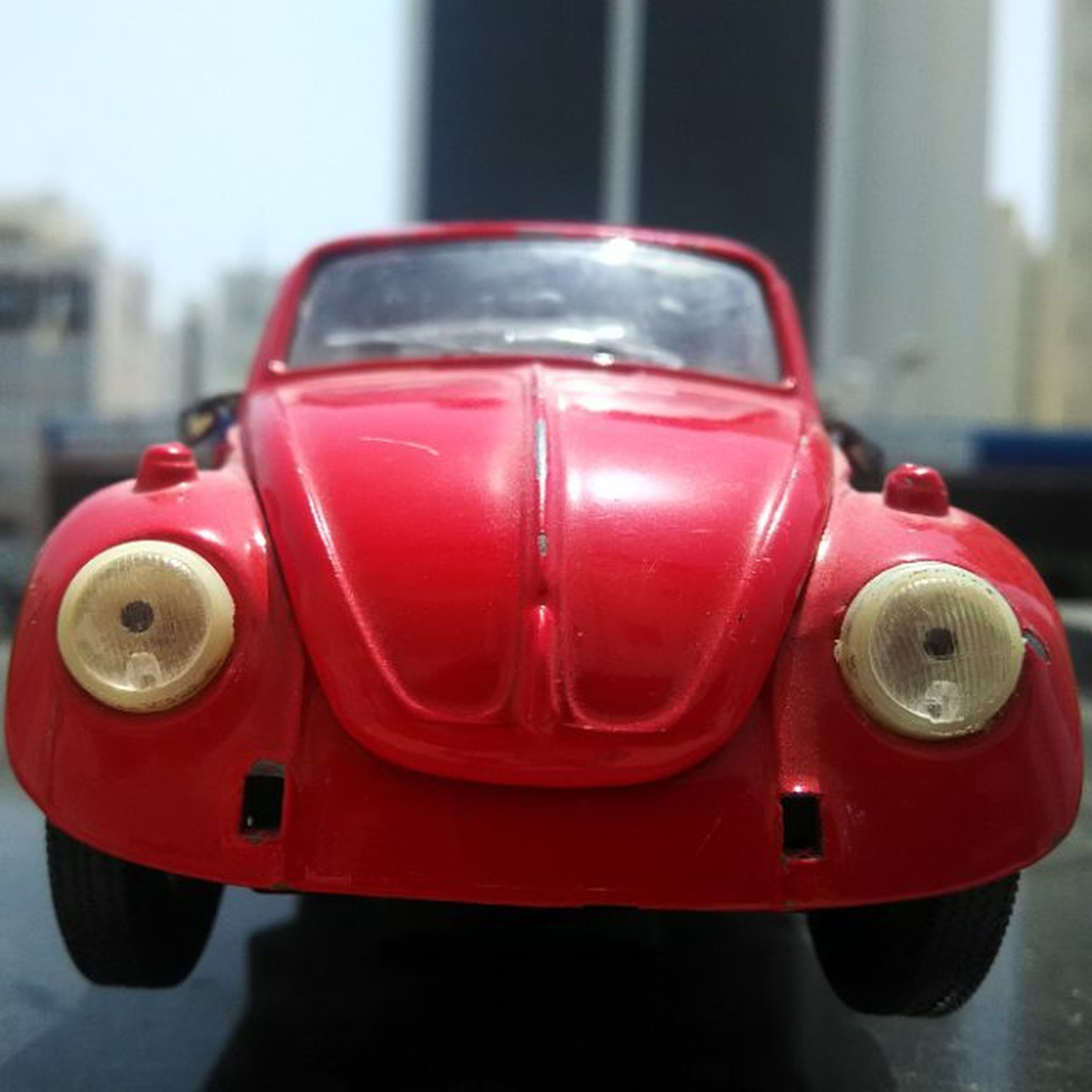 Volkswagen Beetle Scale model. Modelcar Collection Beautiful Red 3of3 Nofilter Nofilterneeded Volkswagen Vwbeetle Vwbeetlelovers Beetle