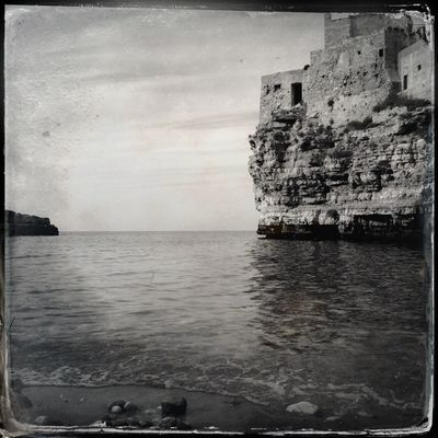 Bye Bye at Polignano by Barbara Rigon