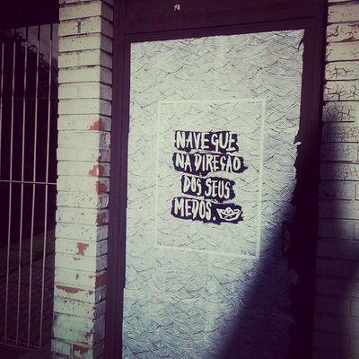 coragem. UrbanART Streetart Lambelambe Arteurbana Aruafala Artederua Wheatpaste Navegar