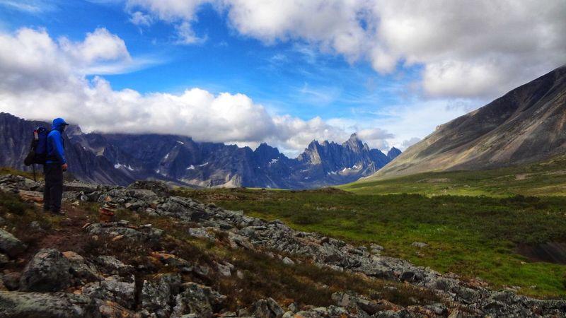 Tombstone Territorial Park Tombstone Arctic Dawson Mountain Landscape Nature Scenics Mountain Range Cloud - Sky Sky Wilderness