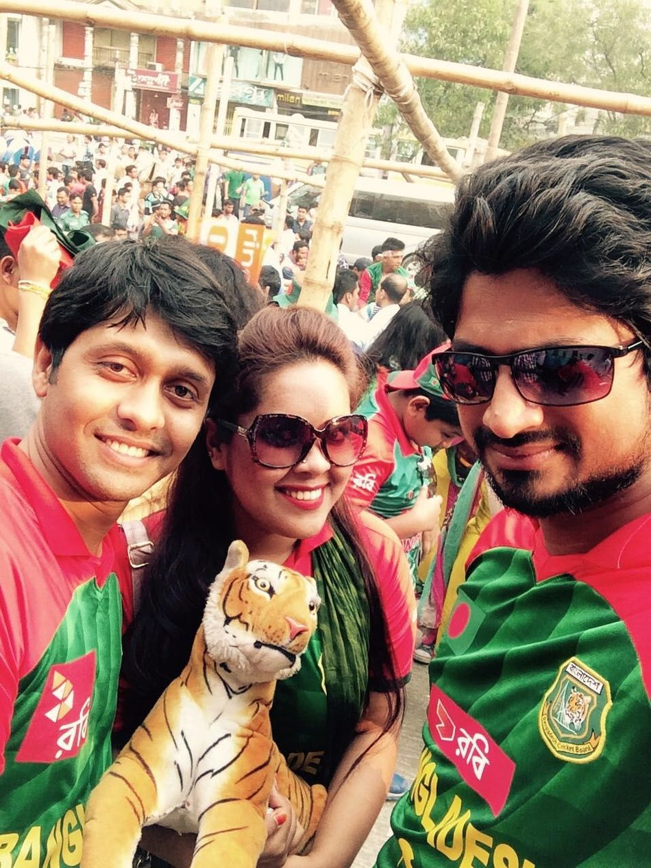 AsiaCup Bd Supporter Love Country Hubby & Wifey.! <3 <3 Besties♡ Enjoyment Cloud And Sky Gogotigers..