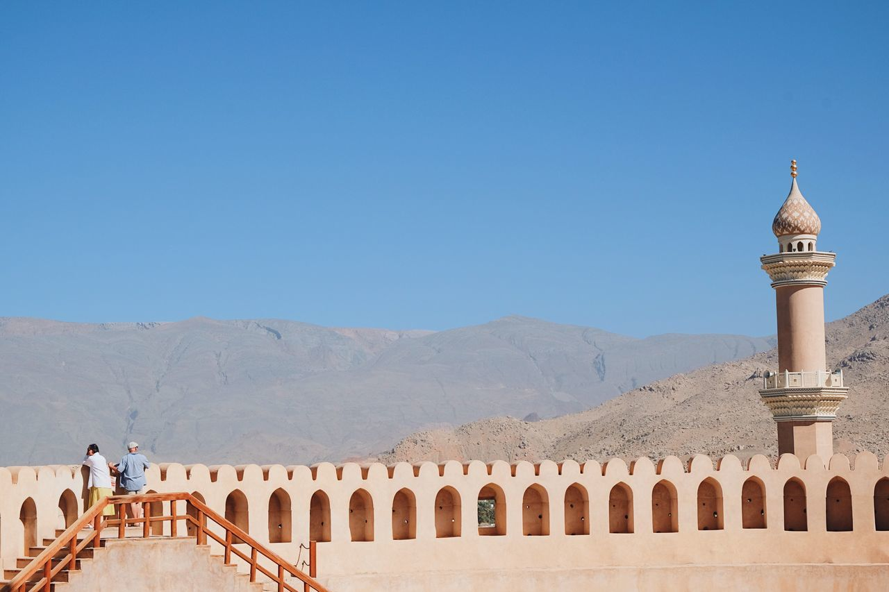 Finding New Frontiers Nizwa Nizwa Fort Architecture Built Structure Building Exterior Travel Destinations Clear Sky Tourism Travel Outdoors History Ancient Ancient Architecture Fort Tourist Attraction  Oman Oman_photography Tourist Travel Photography