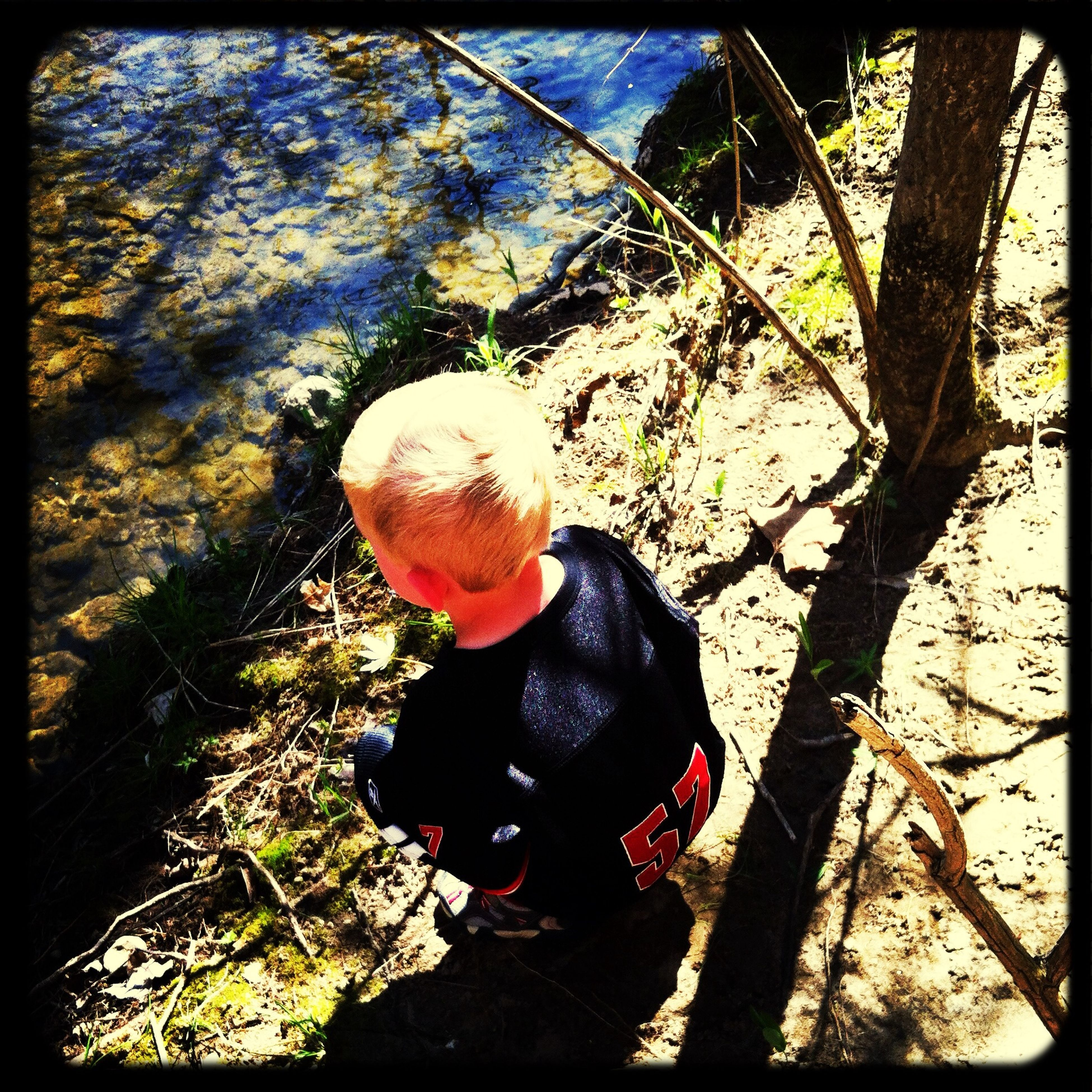 Hiking My Baby Boy Sycamore State Park Nature