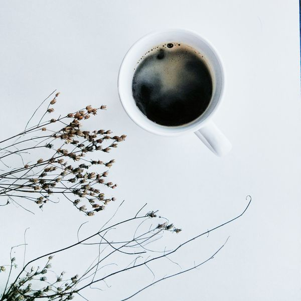Sit back and relax. VSCO Coffee White Simplicity