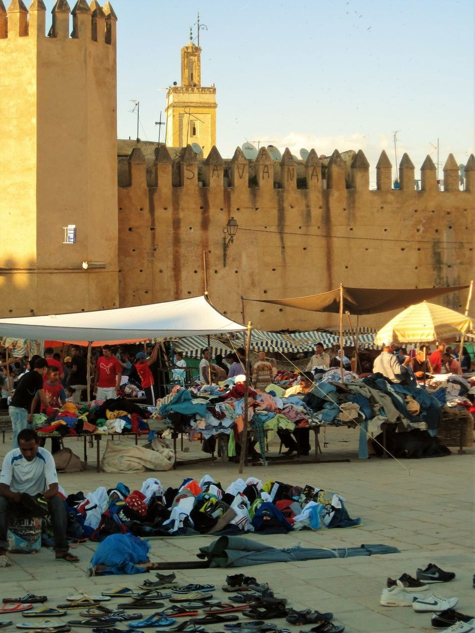 Adult Adults Only Architecture Building Exterior Built Structure Choice City Clothes Day Large Group Of Objects Market Market Stall Men Mosque Outdoors People Ramparts Tourism Travel Destinations