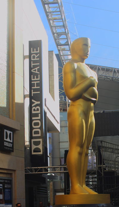 Artists AWARD Cinema In Your Life Dolby Theatre Dream Factory Hollywood Monochrome MOVIE Oscar