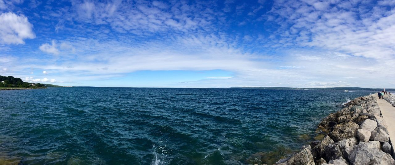 Scenics Beauty In Nature Lake View Tranquil Scene Rock - Object Outdoors Day Lakemichigan Michigan EyeEmNewHere EyeEmNewHere