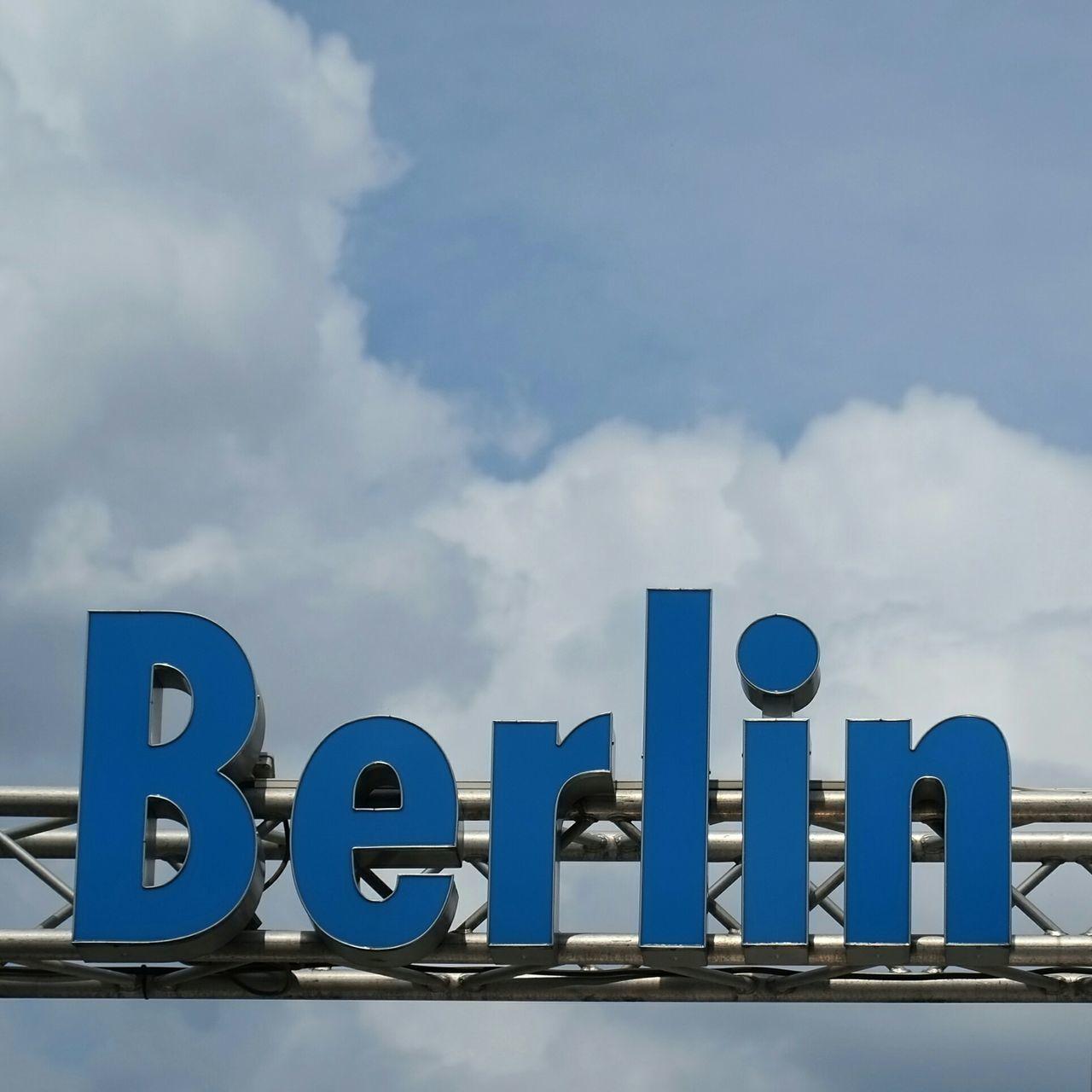 Beautiful stock photos of text, Berlin, Blue, Cloud - Sky, Communication