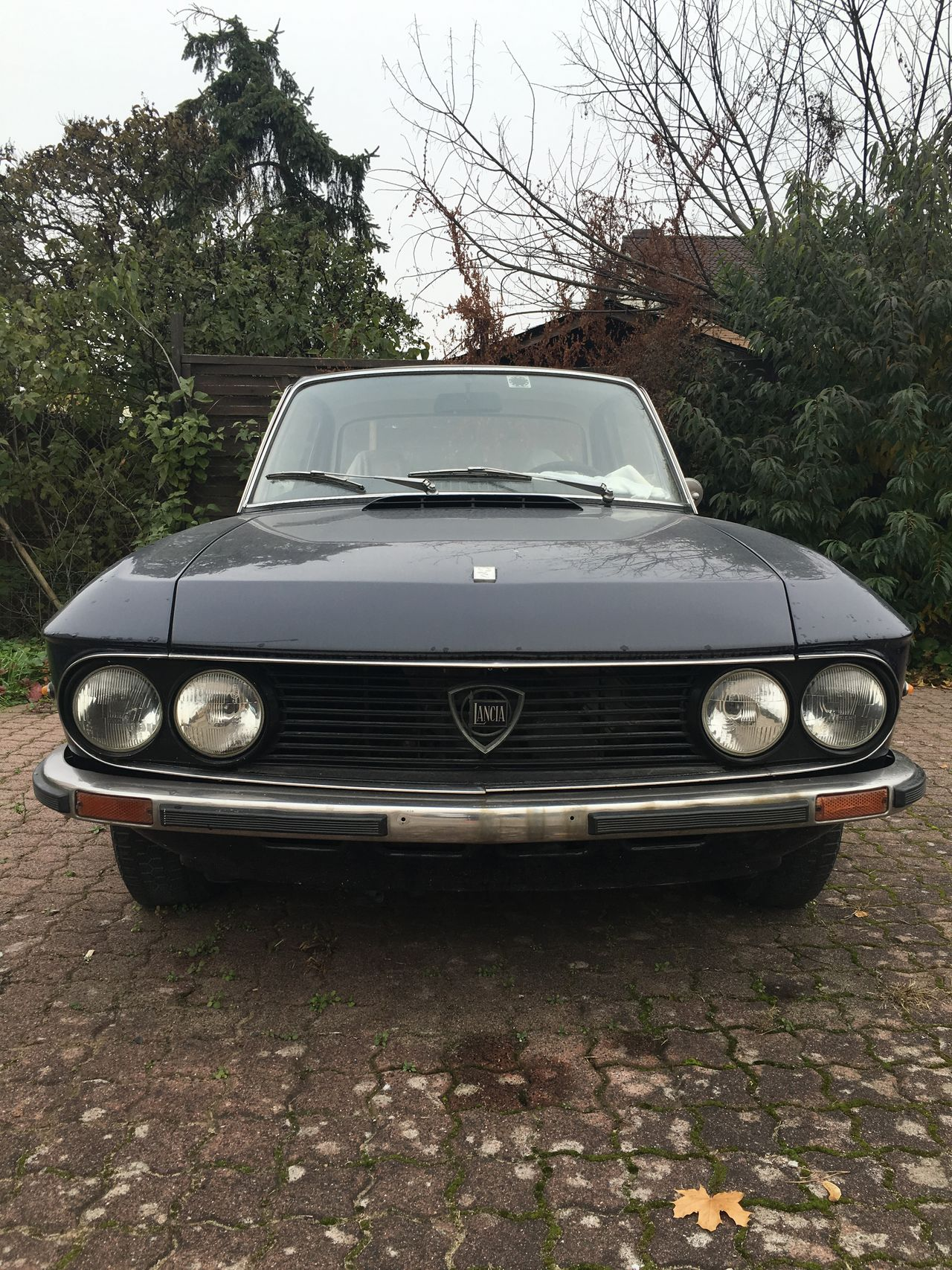 …spotted this (maybe early 70s) Lancia Fulvia 3 here in Alzenau!