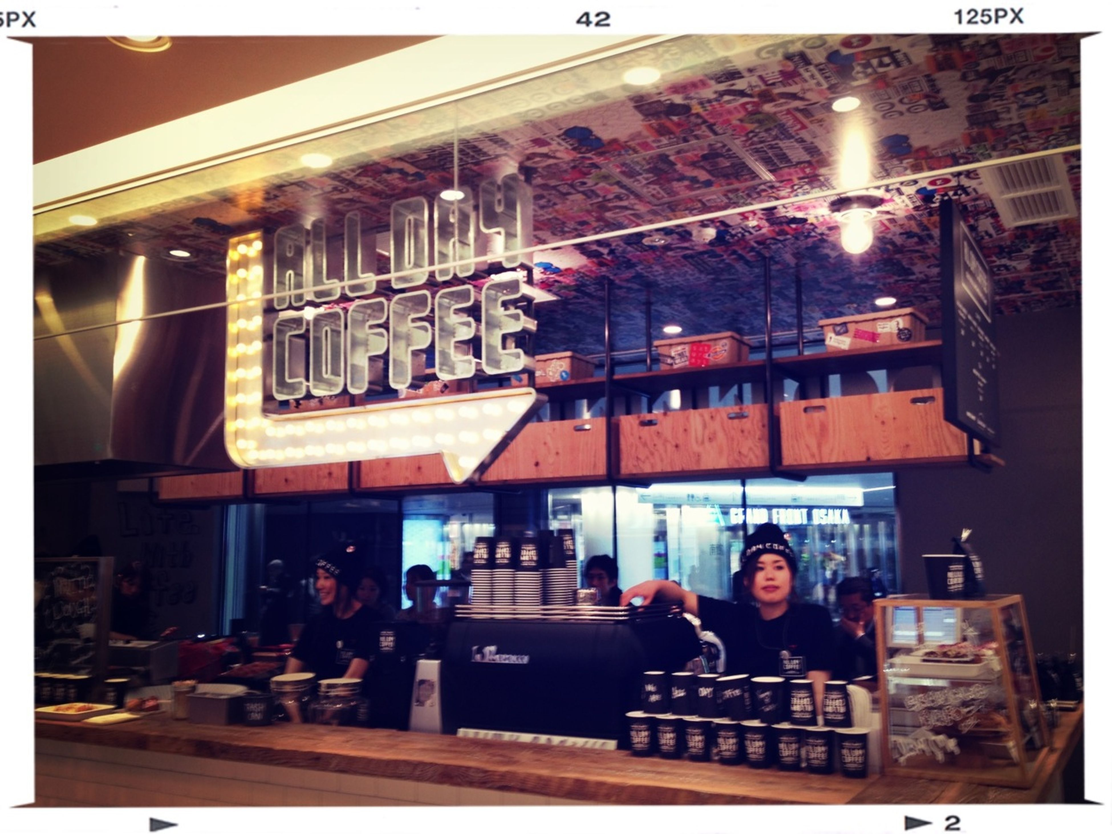 ALL DAY COFFEE。カッコイイ!