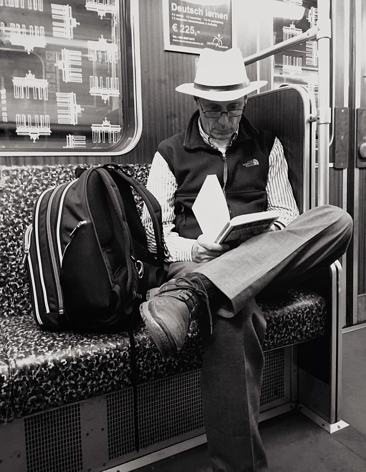 Streetphotography Portrait Mpro Blackandwhite Berlin Open Edit Mobilephotography.de The Street Photographer - 2015 EyeEm Awards Shades Of Grey
