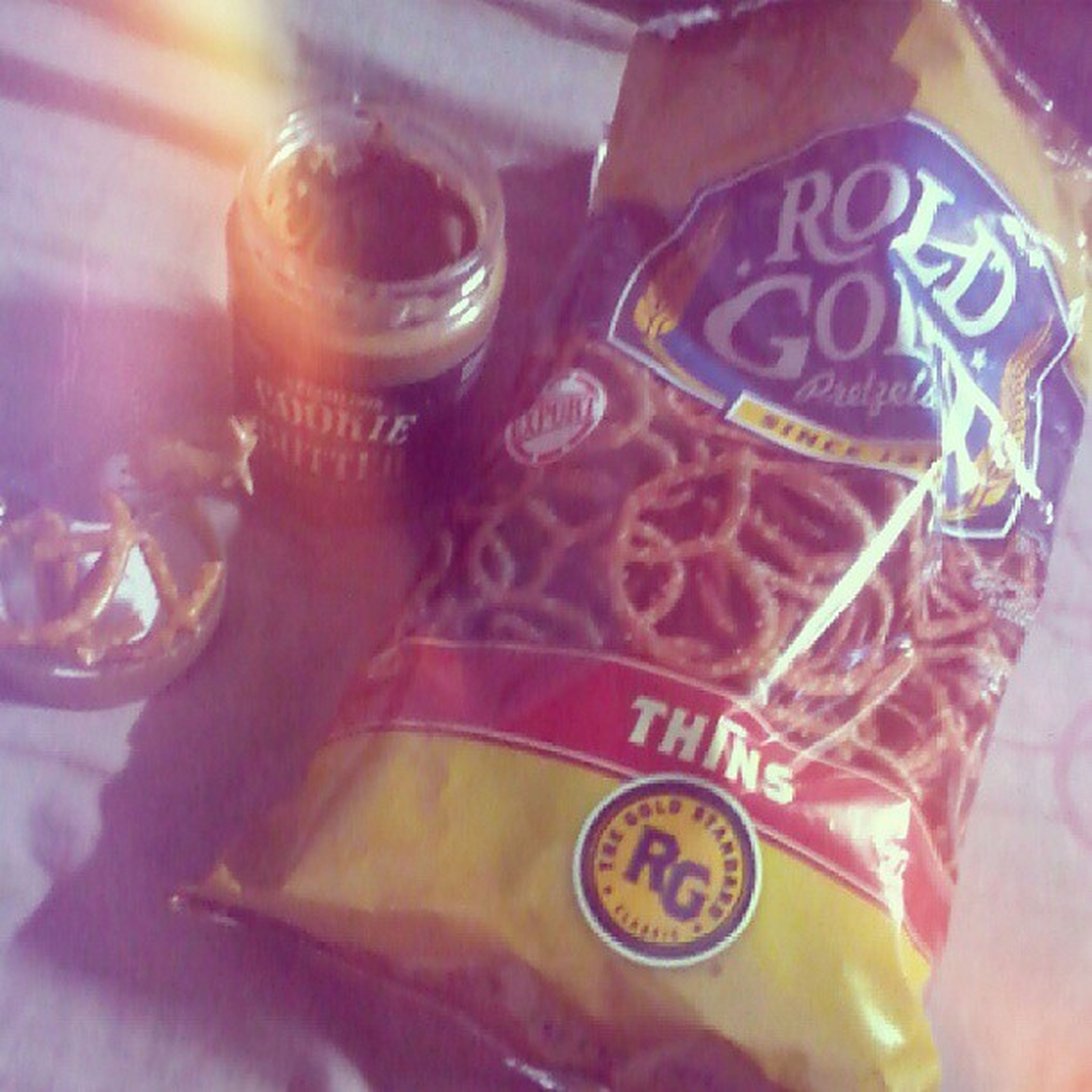 My new fave snack! CookieButter Roldgold Pretzels Sweetnsalty foodie munchies lateupload