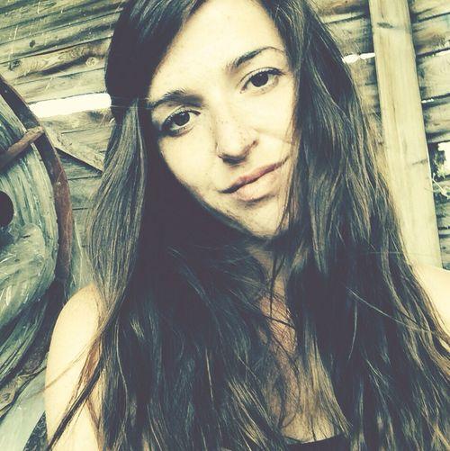 Summer Portrait Selfie Smiling