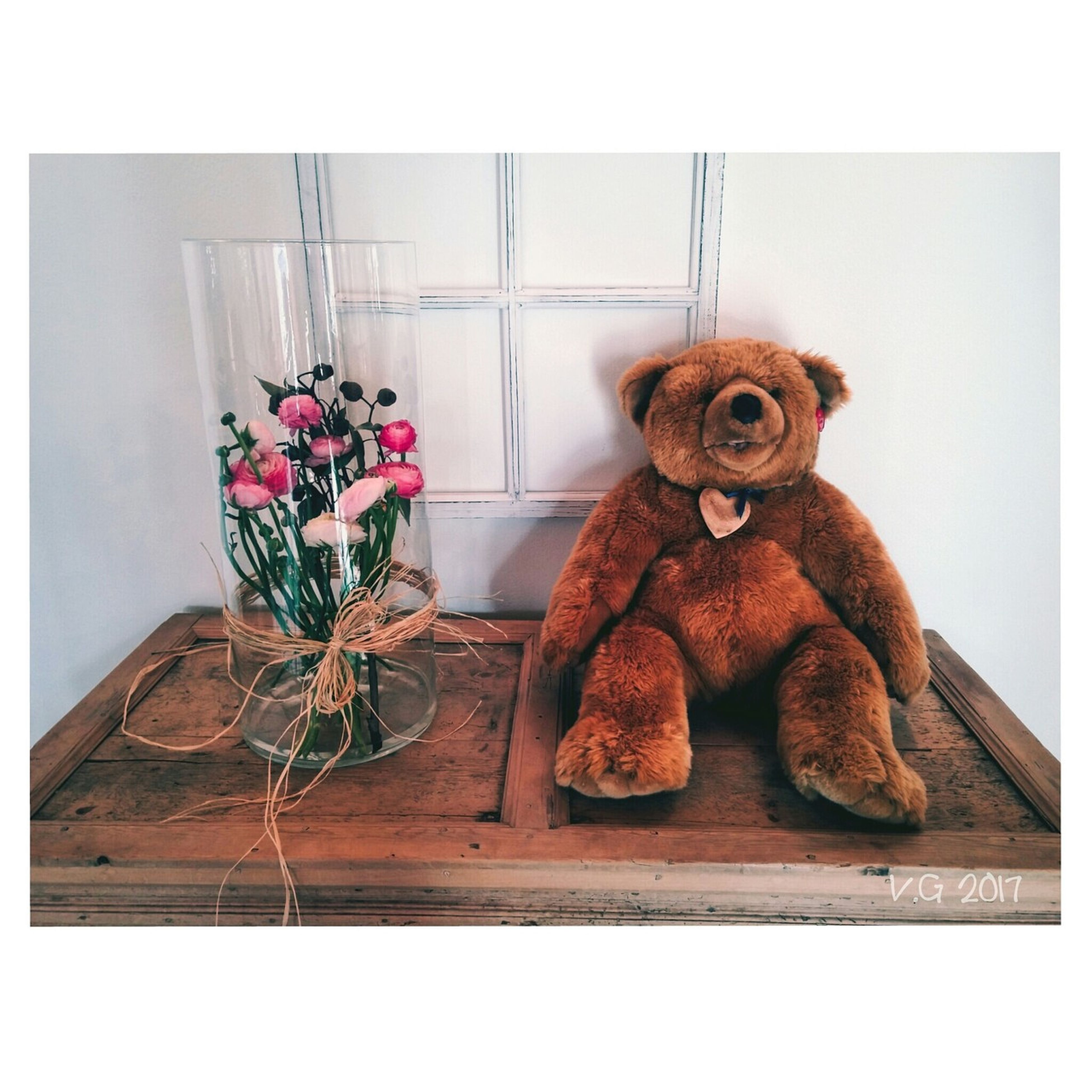 teddy bear, toy, stuffed toy, animal representation, auto post production filter, indoors, no people, childhood, home interior, nature, stuffed, close-up, day
