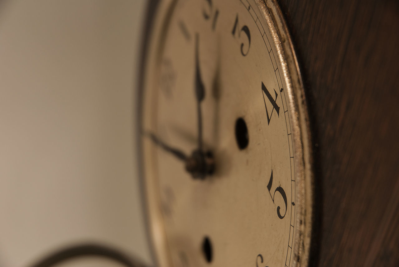 Time blurs things Clock Clock Face Close-up Hour Hand Indoors  Minute Hand No People Number Old-fashioned Still Life Studio Photography Studio Shot Time