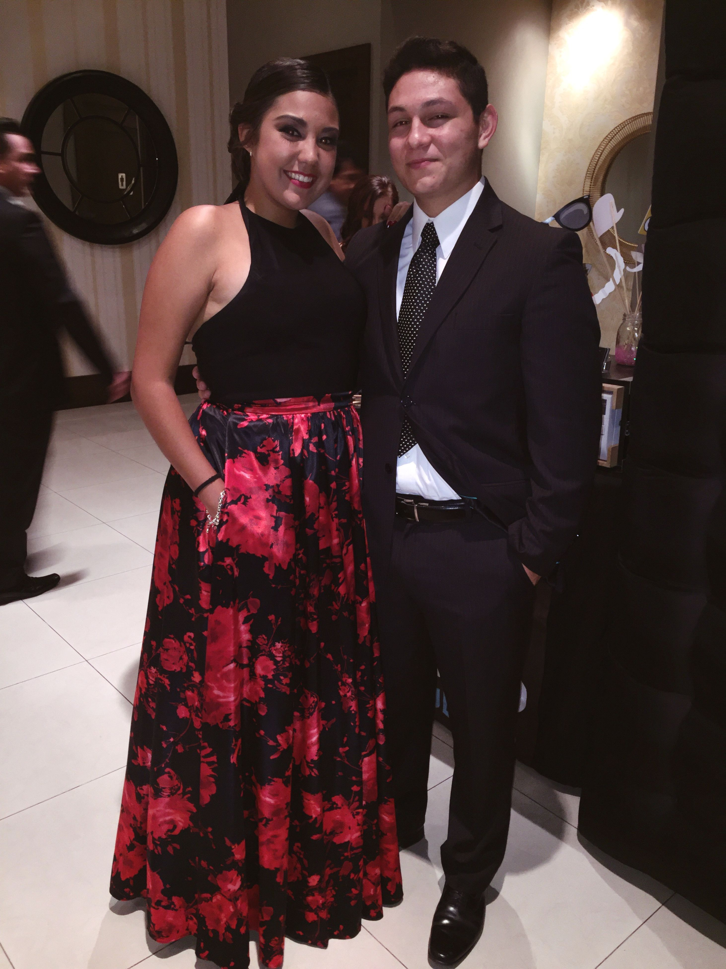 two people, standing, looking at camera, real people, front view, indoors, lifestyles, leisure activity, portrait, formalwear, well-dressed, young women, men, full length, women, togetherness, young adult, day