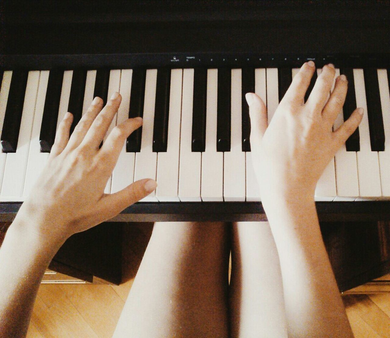 Beautiful stock photos of piano, Arts Culture And Entertainment, Directly Above, Hobbies, Home Interior