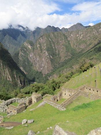 Ancient Ancient Civilization High Angle View Inca Inca Trail Landscape Machu Picchu Machu Picchu - Peru Machu Picchu Road Majestic Mountain Nature At Its Best Peru Ruins Tranquil Scene Tranquility Travel The World