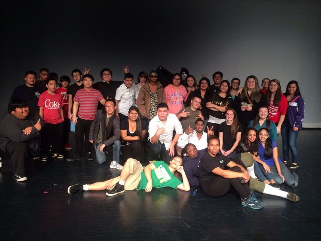 The crew. We are missing some people in the picture. And some of them didn't perform but if it wasn't for them we wouldn't have been able to do this show.But anyways I think we all did an amazing job with our performances and I can't wait till next year to do it again.