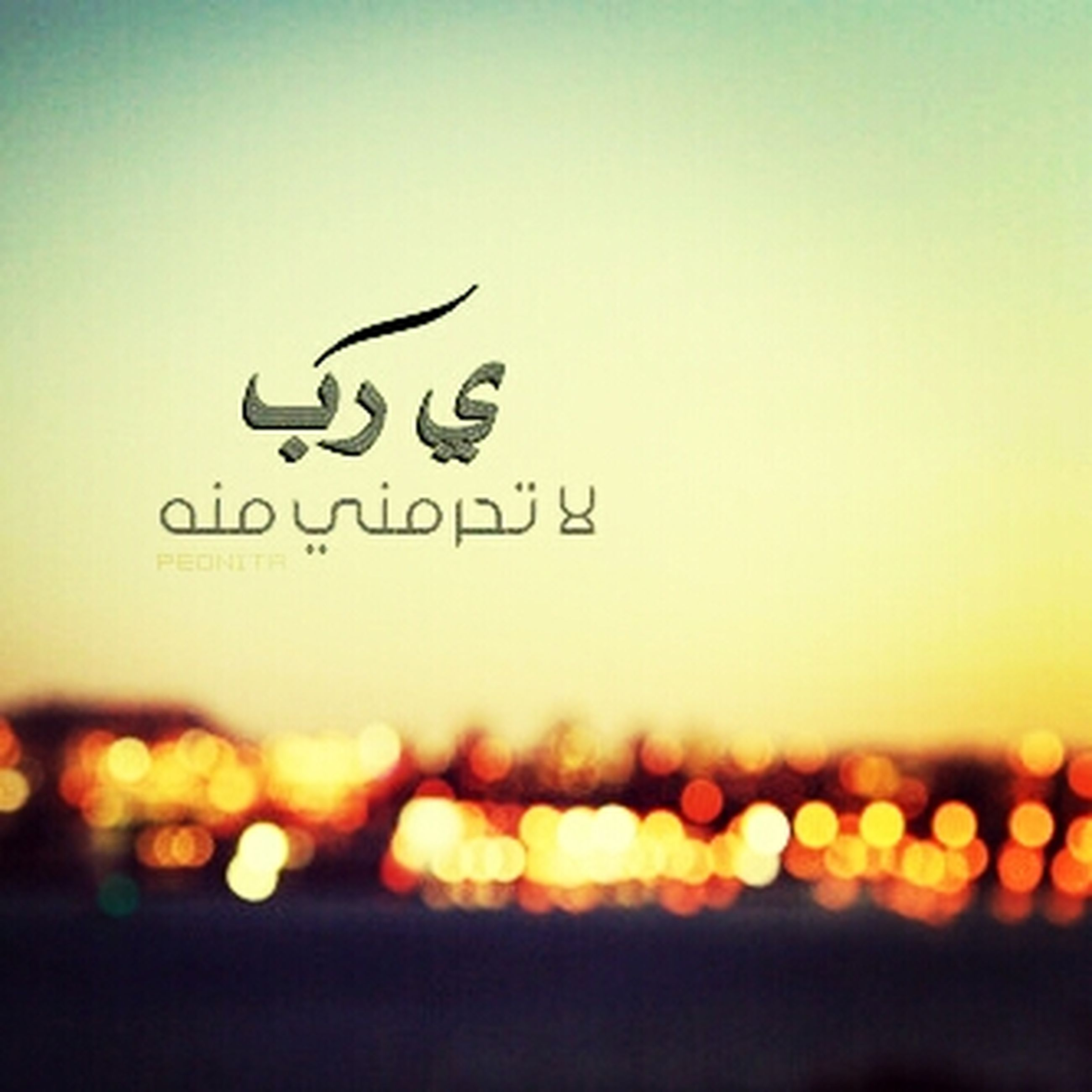text, western script, communication, copy space, clear sky, close-up, non-western script, focus on foreground, illuminated, sunset, capital letter, no people, selective focus, human representation, outdoors, orange color, sign, information, art, creativity