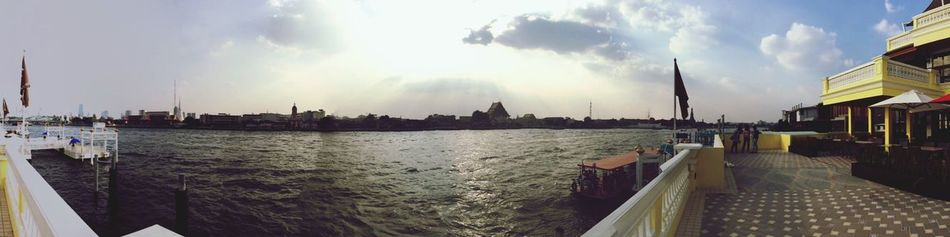 Bangkok Thailand Choprayariver River River View Riverside Yodpriman Riverside