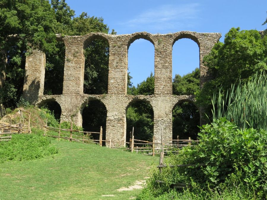 Aqueduct Arch Architecture Central Italy History Monterano Vecchia No People Old Ruin Outdoors The Past