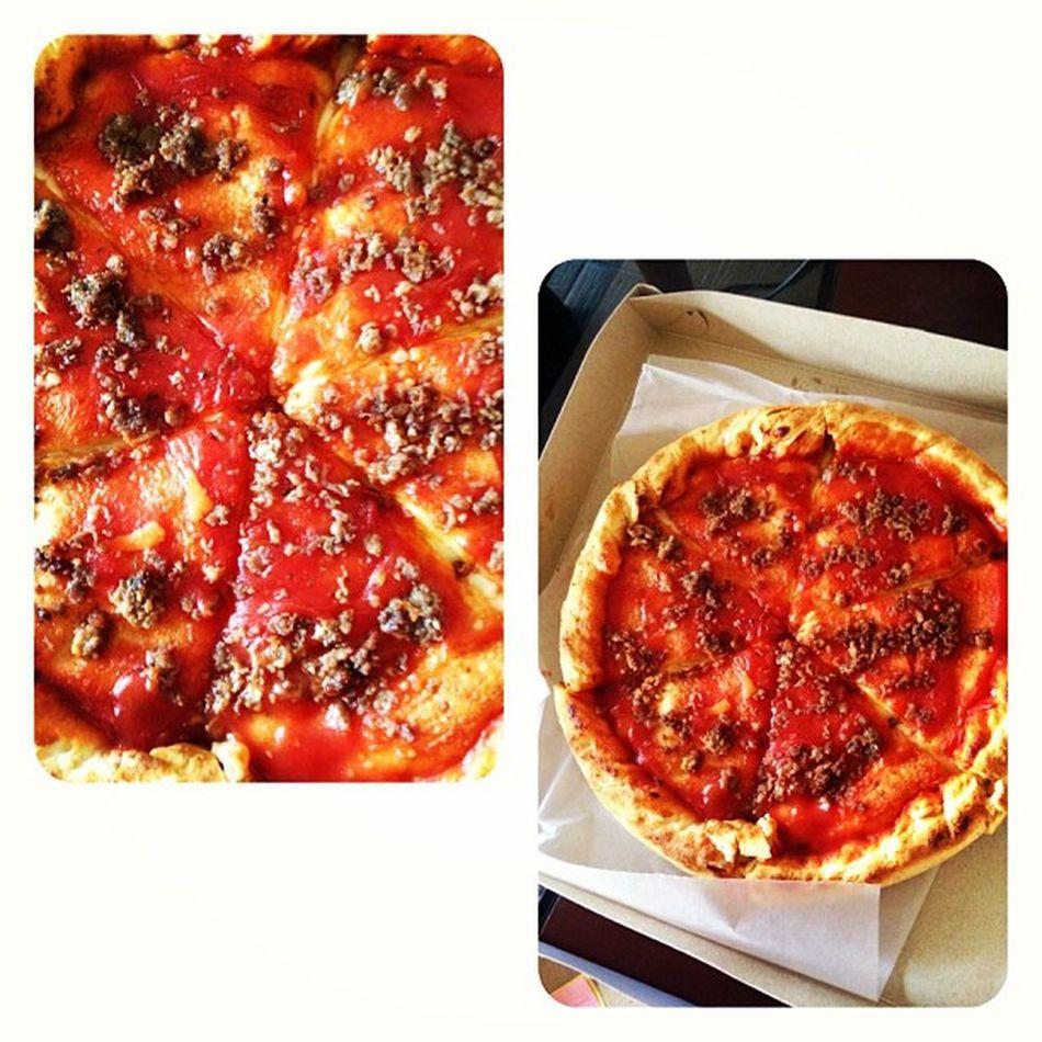 Try @Pizzarella's new pizza!! Polpa! ? Pizzarella Foodgasm Food Bombdiggity instagood