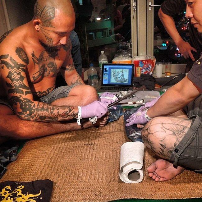 king of tattoo 2013 Kingoftattoo2013 Kot2013 Tattoo Borneo