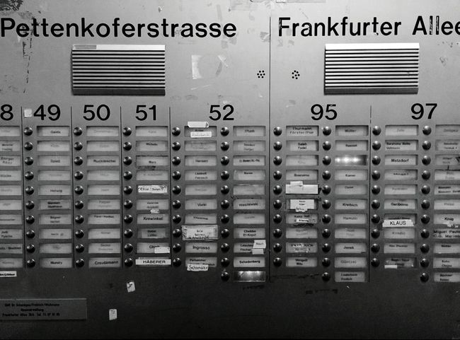 Day 106 - So many choices Berlin Blackandwhite 365project 365florianmski Day106